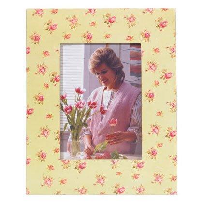 Roses Wood photo frame