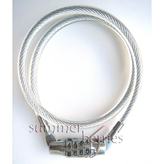Combination Cable Lock - Bicycle / Bike Lock