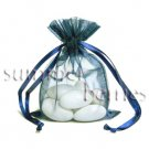 Organza Sachet Favor Bag / Bags - 2.75x4.5 Navy (Set of 10)
