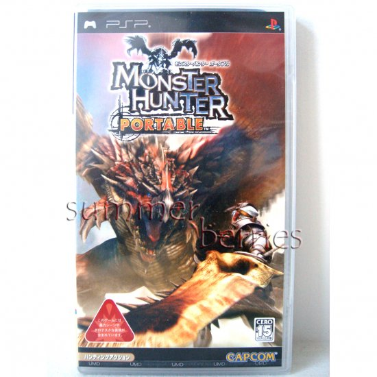 Playstation PSP Game - Monster Hunter Portable - Japan / Japanese Version - Brand New