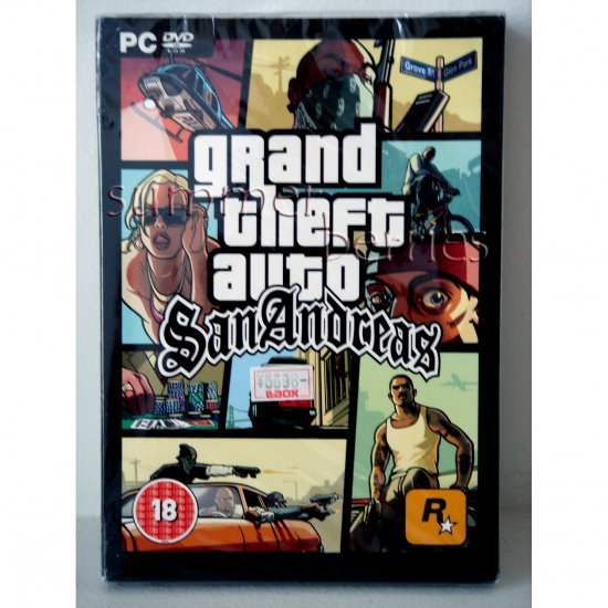 PC Game - Grand Theft Auto: San Andreas (Limited Edition) - Brand New