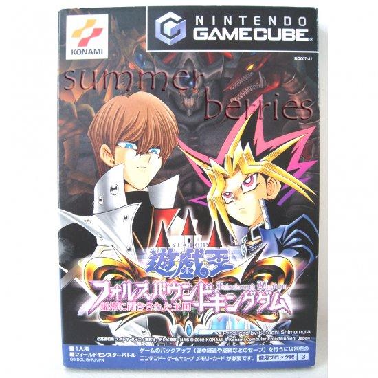 Gamecube / Wii Game - Yu-Gi-Oh: Falsebound Kingdom [Japan / Japanese Edition (NTSC-J)]