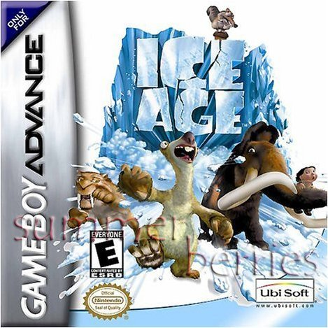 Nintendo Gameboy Advance  Game - Ice Age