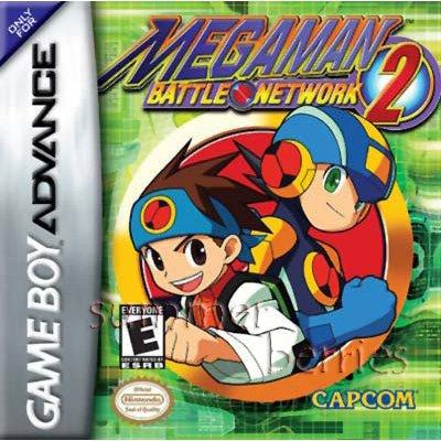 Nintendo Gameboy Advance Game - MegaMan Battle Network 2