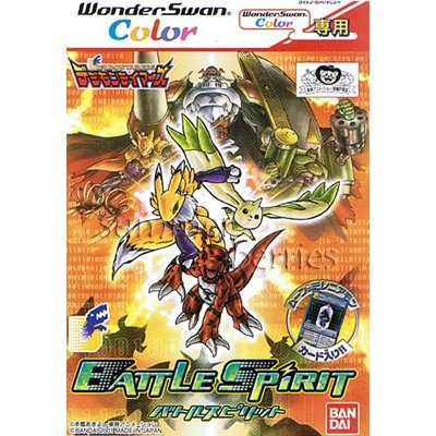 WonderSwan Color Game - Digimon Tamers: Battle Spirit (Japan / Japanese Edition)