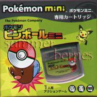 Nintendo Pokemon Mini Game - Pinball Mini (Japan / Japanese Edition)