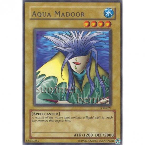YuGiOh Card LOB-027 - Aqua Madoor [Rare]