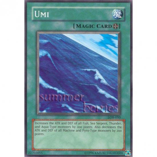 YuGiOh Card LOB-050 - Umi [Common]