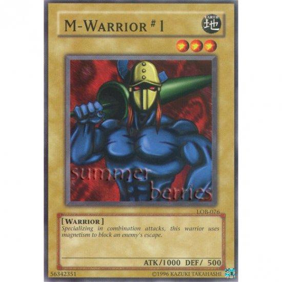 YuGiOh Card LOB-076 - M-Warrior #1 [Common]