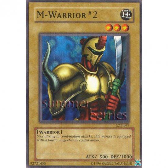 YuGiOh Card LOB-077 - M-Warrior #2 [Common]