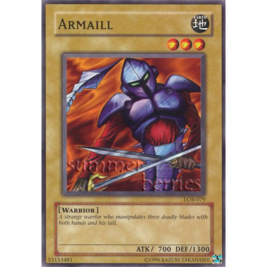 YuGiOh Card LOB-079 - Armaill [Common]
