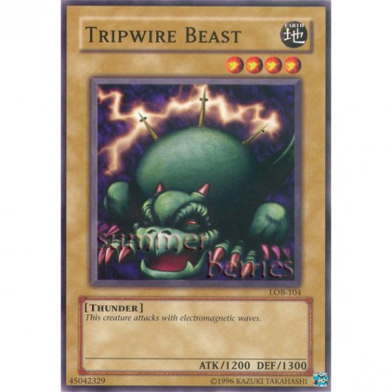 YuGiOh Card LOB-104 - Tripwire Beast [Common]