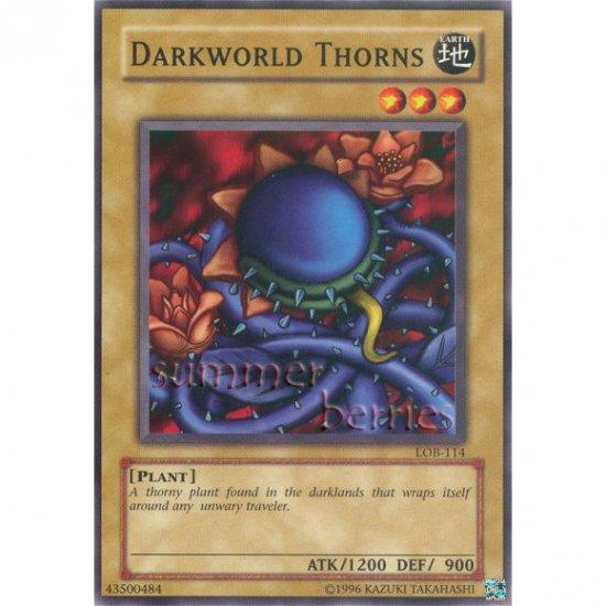 YuGiOh Card LOB-114 - Darkworld Thorns [Common]