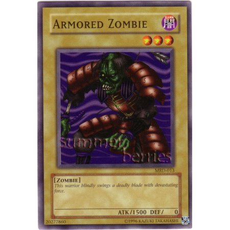 YuGiOh Card MRD-013 - Armored Zombie [Common]