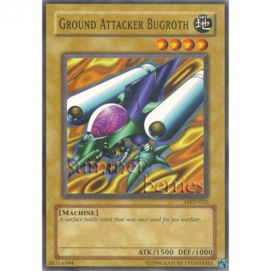 YuGiOh Card MRD-022 - Ground Attacker Bugroth [Common]