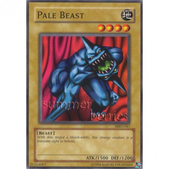 YuGiOh Card MRD-047 - Pale Beast [Common]