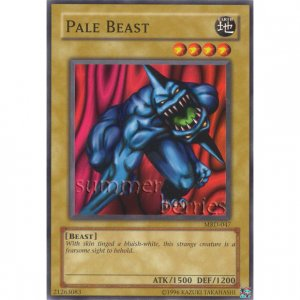 YuGiOh Card MRD-047 - Pale Beast [Common]