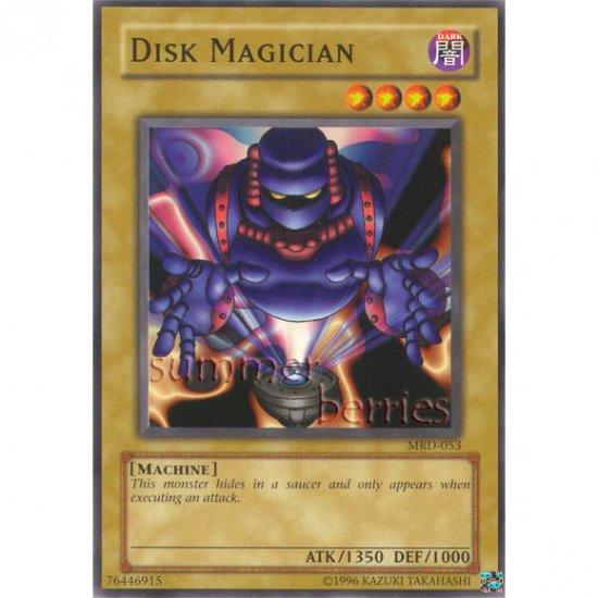 YuGiOh Card MRD-053 - Disk Magician [Common]