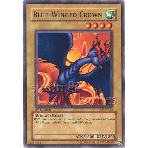 YuGiOh Card MRD-122 1st Edition - Blue-Winged Crown [Common]