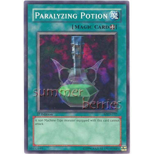 YuGiOh Card MRD-137 1st Edition - Paralyzing Potion [Common]