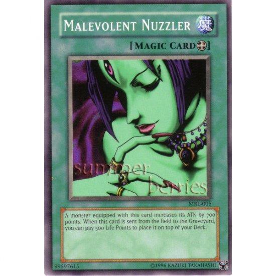 YuGiOh Card MRL-005 - Malevolent Nuzzler [Common]