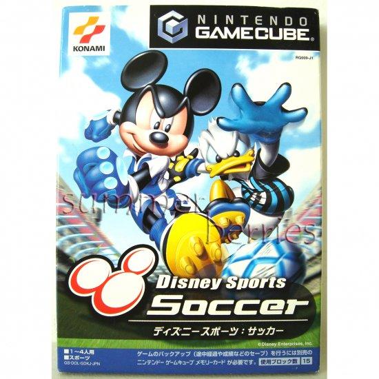 Gamecube / Wii Game - Disney Sports: Soccer [Japan / Japanese Edition (NTSC-J)]