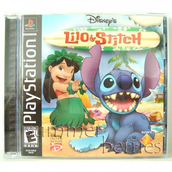 PlayStation Game - Disney's Lilo and Stitch