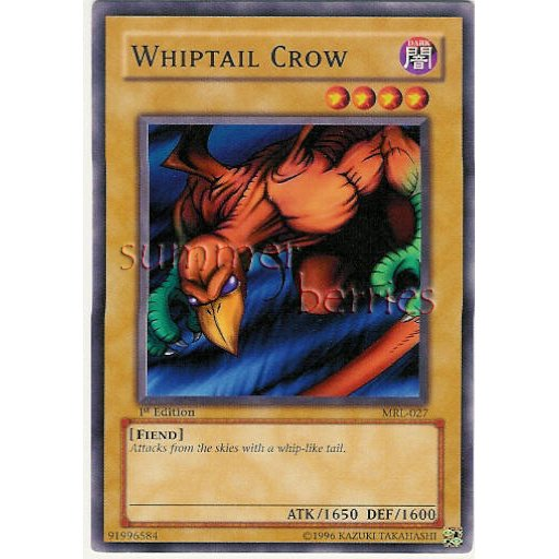 YuGiOh Card MRL-027 1st Edition - Whiptail Crow [Common]