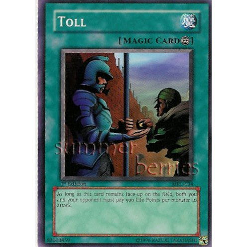 YuGiOh Card MRL-034 1st Edition - Toll [Short Print]