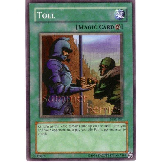 YuGiOh Card MRL-034 - Toll [Short Print]