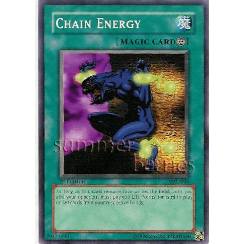 YuGiOh Card MRL-046 1st Edition - Chain Energy [Common]