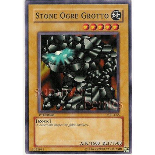 YuGiOh Card MRL-058 1st Edition - Stone Ogre Grotto [Common]