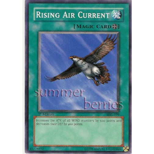 YuGiOh Card MRL-099 1st Edition - Rising Air Current [Short Print]