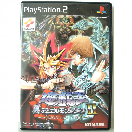 PS2 Game - Yu-Gi-Oh! Duelists of the Roses [Japan / Japanese Edition (NTSC-J)]
