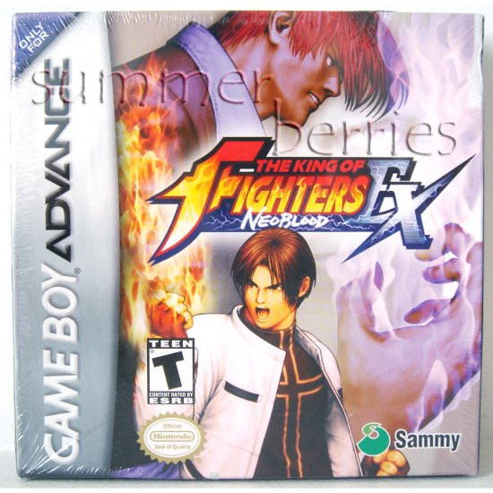 Nintendo Gameboy Advance Game - The King of Fighters EX: NeoBlood