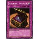 YuGiOh Card PSV-013 1st Edition - Solomon's Lawbook [Common]