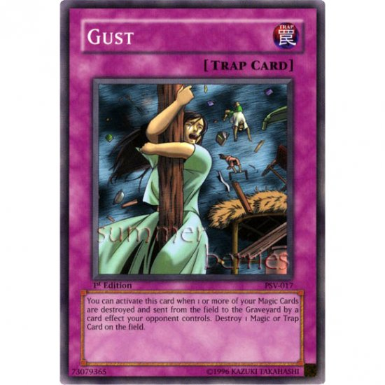 YuGiOh Card PSV-017 1st Edition - Gust [Common]