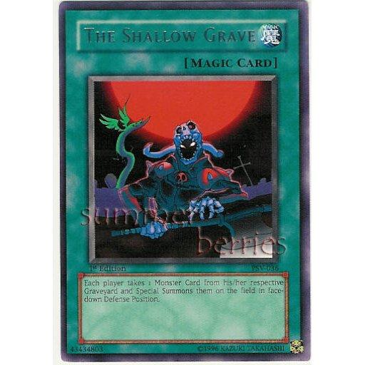 YuGiOh Card PSV-036 1st Edition - The Shallow Grave [Rare]