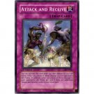 YuGiOh Card PSV-054 1st Edition - Attack and Receive [Common]
