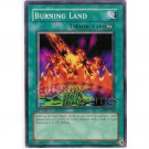 YuGiOh Card PSV-061 1st Edition - Burning Land [Common]