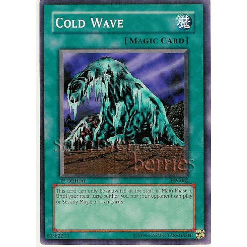 YuGiOh Card PSV-062 1st Edition - Cold Wave [Common]