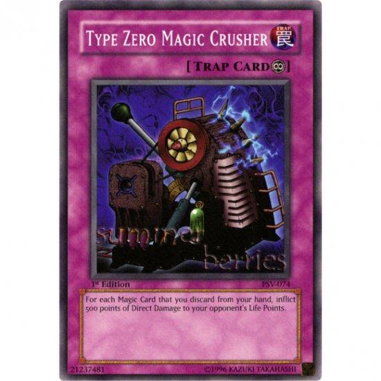 YuGiOh Card PSV-074 1st Edition - Type Zero Magic Crusher [Common]