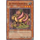 YuGiOh Card SDK-004 - The Wicked Worm Beast [Common]