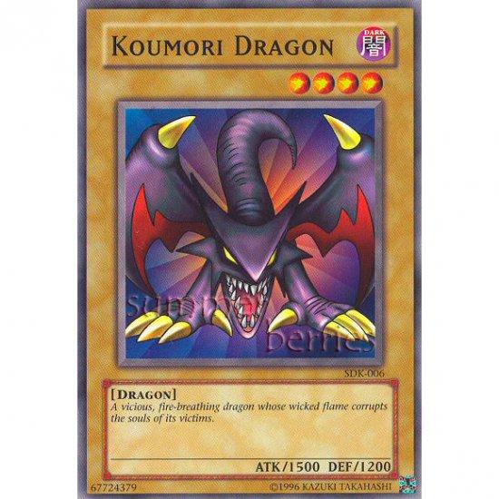 YuGiOh Card SDK-006 - Koumori Dragon [Common]