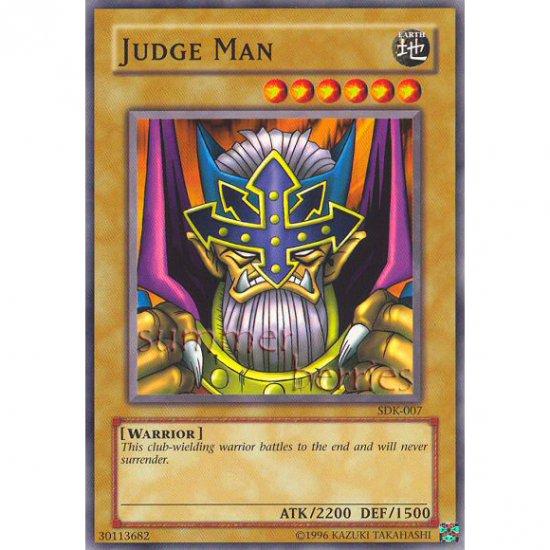 YuGiOh Card SDK-007 - Judge Man [Common]