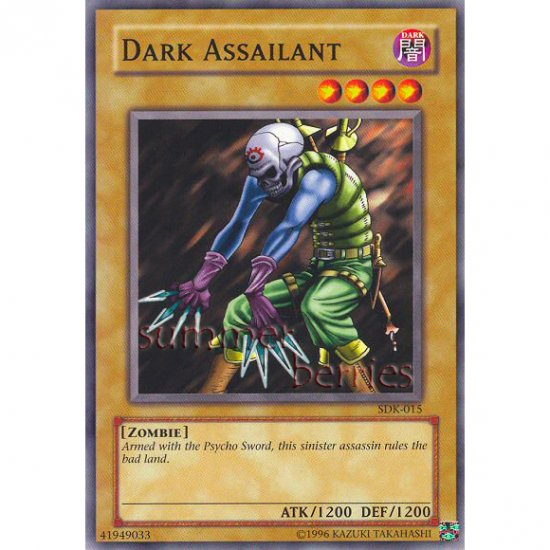 YuGiOh Card SDK-015 - Dark Assailant [Common]