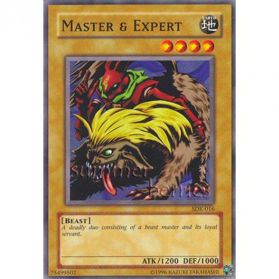 YuGiOh Card SDK-016 - Master & Expert [Common]