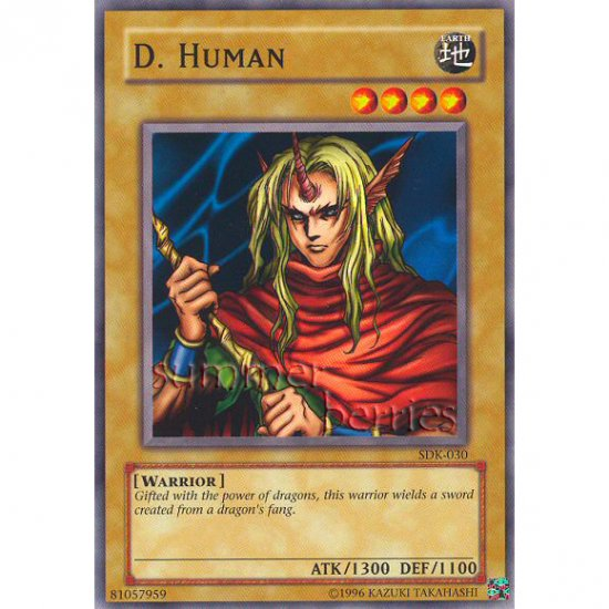 YuGiOh Card SDK-030 - D. Human [Common]
