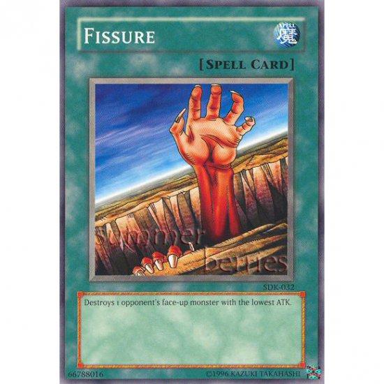 YuGiOh Card SDK-032 - Fissure [Common]