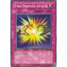 YuGiOh Card SDK-034 - Two-Pronged Attack [Common]
